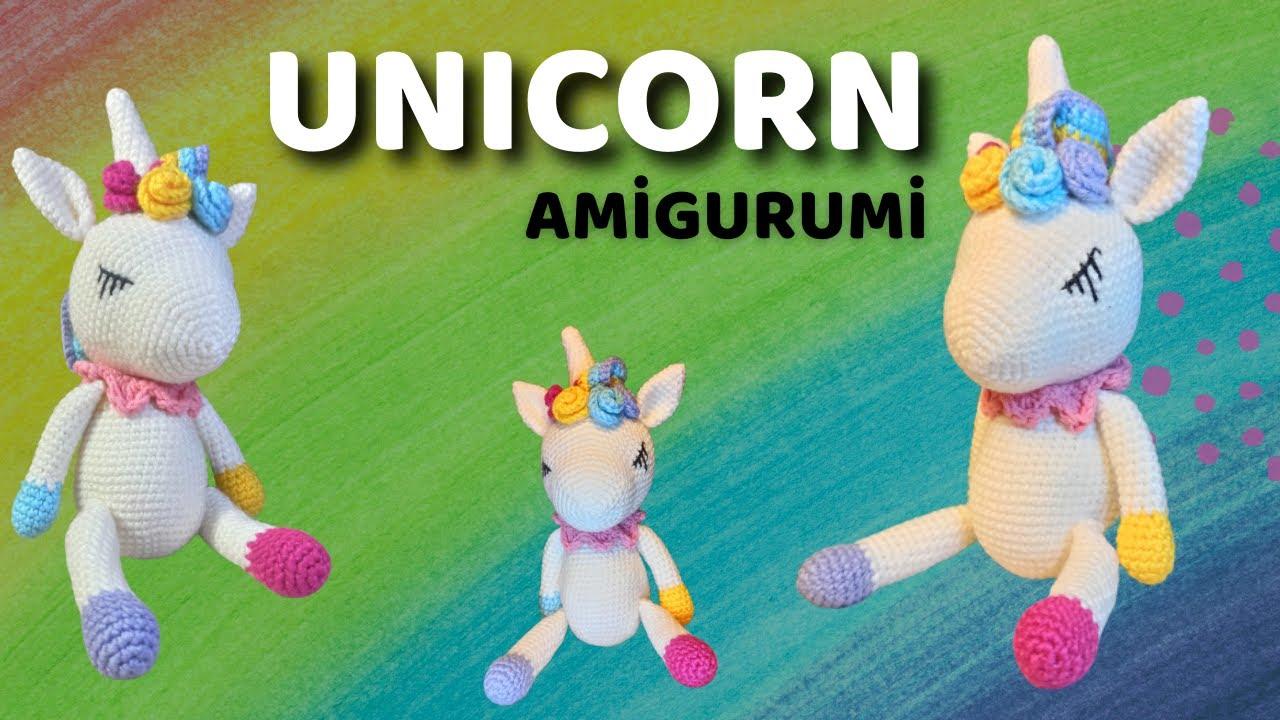 Amigurumi Unicorn Yapımı l #part3