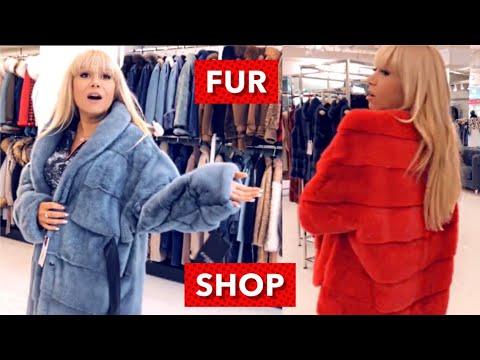 FUR coats SHOPPING ❤️ Mink & Lynx Fur coats try on haul 😃Absolutely fabulous!!
