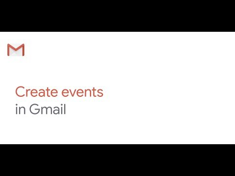 How To: Create Events from your Inbox in Gmail