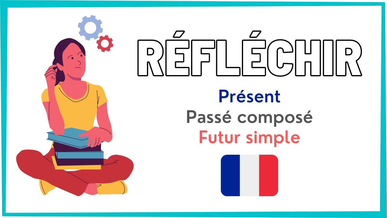 Conjugaison Francaise Le Verbe Reflechir Au Present Passe Compose Et Futur Simple Youtube