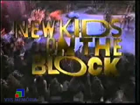 Chamada Shopshow - New Kids On The Block - Rede Manchete (1990)