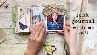 Junk Journal With Me   Ep 37   Drawing Inspiration from Historical Fiction