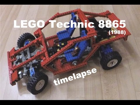 lego technic 8865 pkw chassis 1988 timelapse youtube. Black Bedroom Furniture Sets. Home Design Ideas