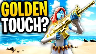 Will MYSTIQUE Take MIDAS' GOLDEN TOUCH With Her ABILITY? | Fortnite Mythbusters