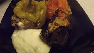 Долма 3 сестрицы  Азербайджанская кухня