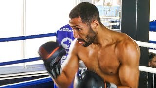 James DeGale INCREDIBLE SHAPE & MOVING WELL | Media Workout