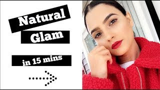 HOW TO GET READY IN 15 MINUTES| MAKEUP+ STYLING TIPS| Preet Aujla