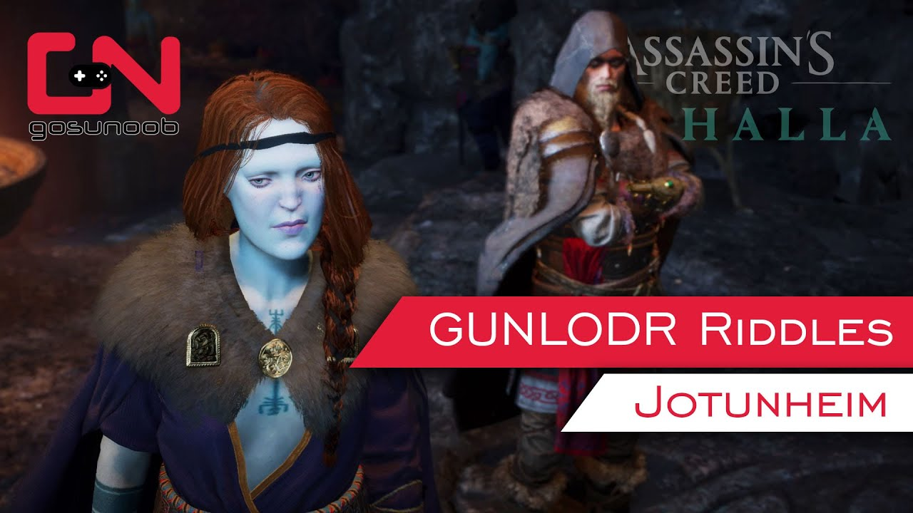 Gunlodr Riddles Ac Valhalla All Correct Answers Youtube