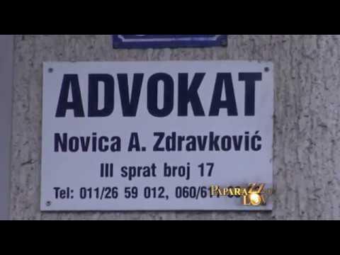 Ana Sević kod advokata