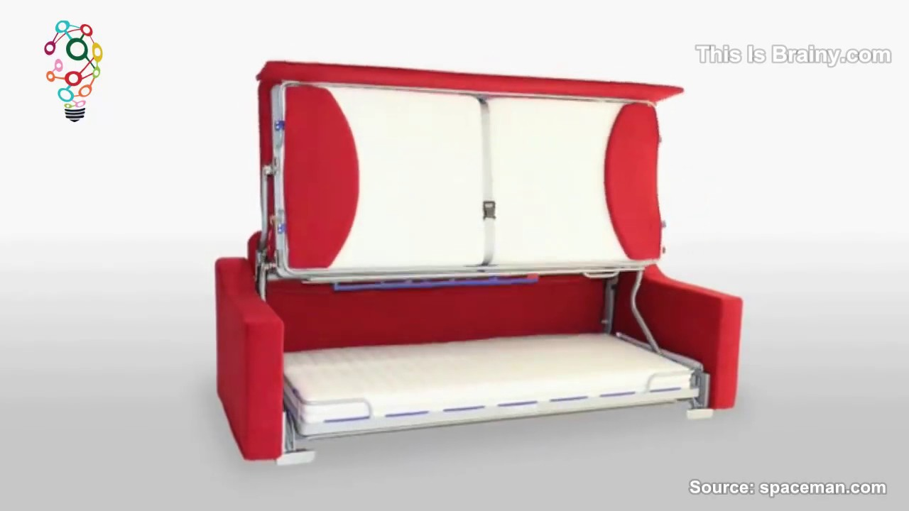 innovative and stylish space saving furniture   youtube -