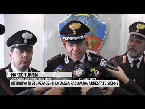 TG PADOVA (13/12/2018) - RIFORNIVA DI STUPEFACENTI...