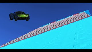 LA RAMPA GIGANTE!! - CARRERA GTA V ONLINE - GTA 5 ONLINE