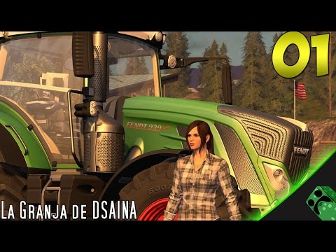Farming Simulator 2017 - La granja de DSAINA - Cap.1 | Gameplay Español