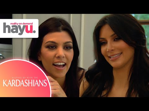 Kim Is Kourtney's Slave For The Day | Season 5 | Keeping Up With The Kardashians