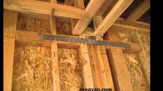 Metal Straps And Framing Plate Connections - House Framing