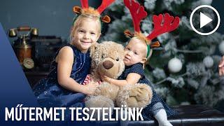 Kipróbáltuk a gödöllői fotóstúdiót! / Karácsonyi fotózás / Pure Photo Center / byKeresztes