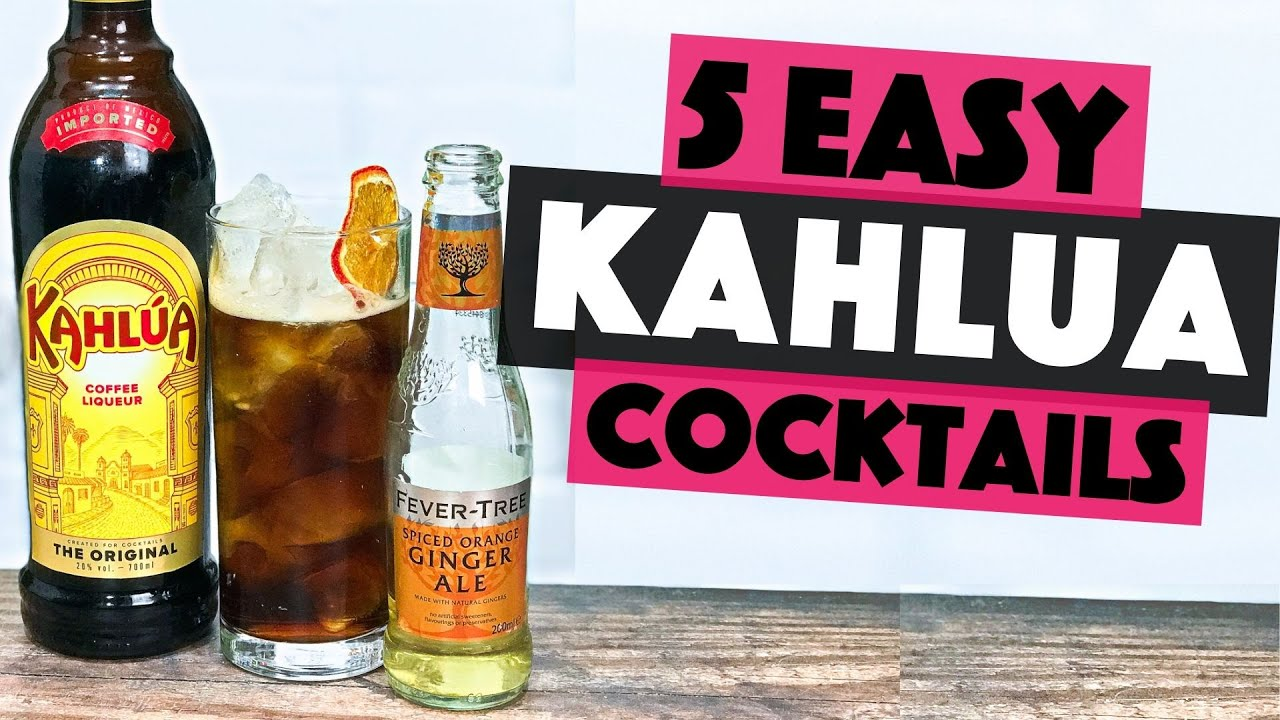 5 Easy Kahlua Cocktails you can make at home   Steve the Barman
