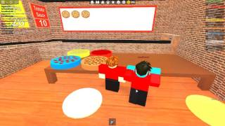 roblox cooking pizza food with useddued1