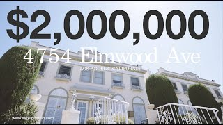 FOR SALE: 4754 Elmwood Ave, Los Angeles