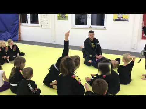Second video Danaher concepts for BJJ kids classes