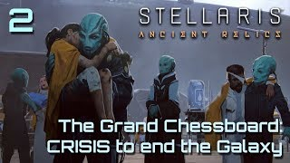 Galaxy at War: Horror Crisis Galaxy VS Stellaris Multi | Stellaris 2.3 Ancient Relics