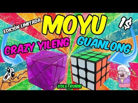 Moyu Guanlong - El cubo más caro de la historia xD - Xole_Rubik