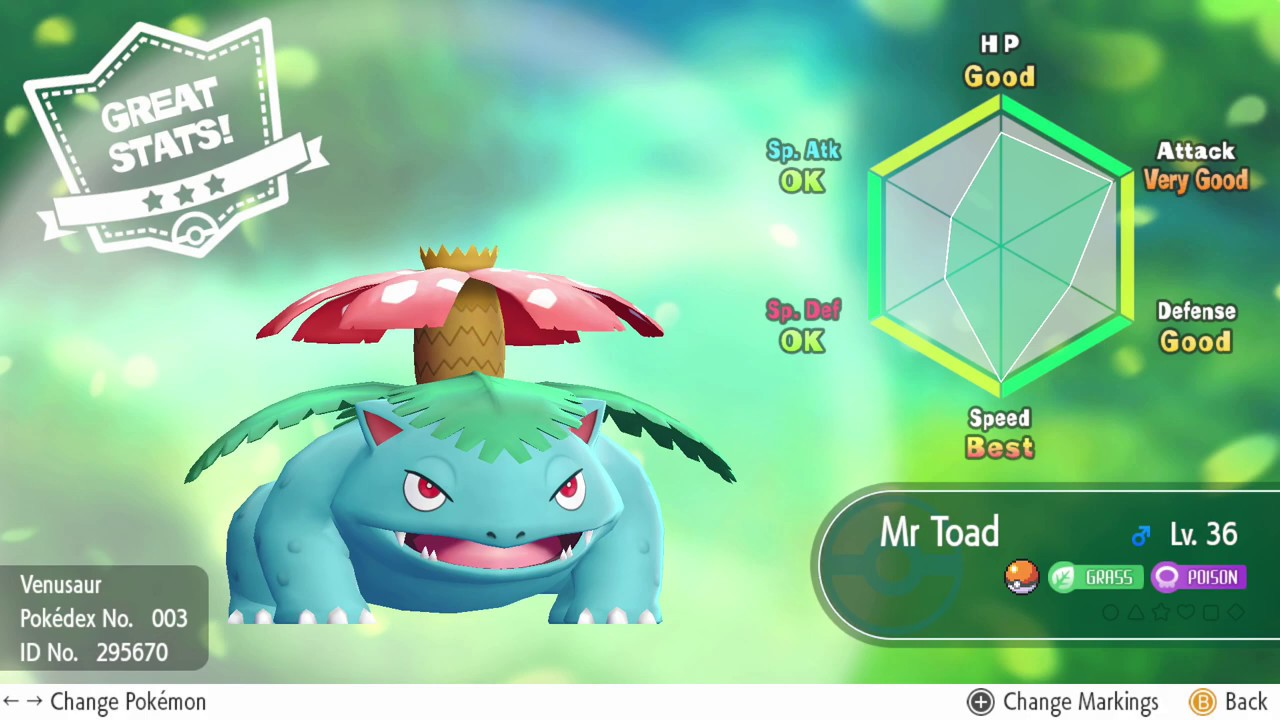 Individual Values (IV's) - Pokemon: Let's Go, Pikachu! Wiki Guide - IGN