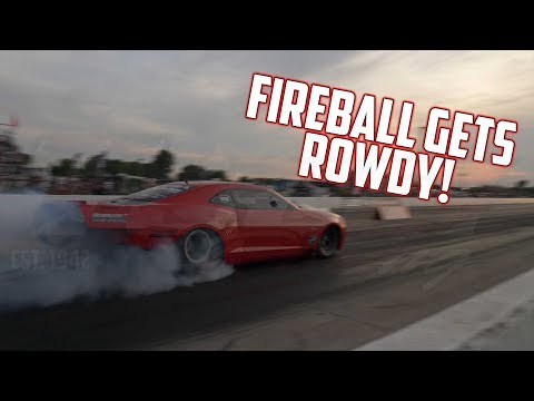 Fireball Camaro Gets ROWDY!