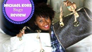 Monday Moments   Michael Kors Handbag Review   Jet Set Tote, Grayson Logo Satchel, & More