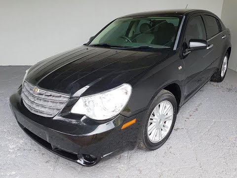 Sold Automatic 4cyl Chrysler Sebring Touring 2008 Review