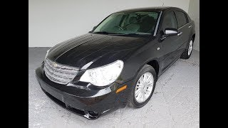 (SOLD) Automatic 4cyl Chrysler Sebring Touring 2008 Review