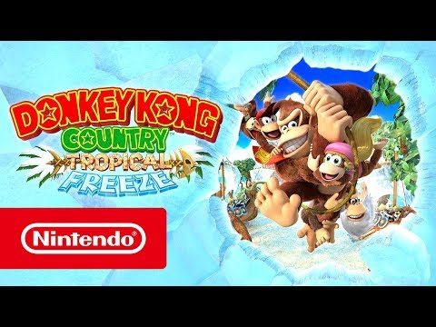 Donkey Kong Country: Tropical Freeze – Tráiler de lanzamiento (Nintendo Switch)