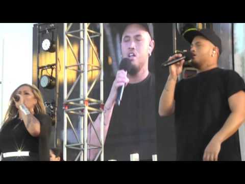"""Aotearoa"" ... Stan Walker, Lavina Williams, Vince Harder. LIve."