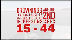 Drowning, second leading cause of accidental deaths