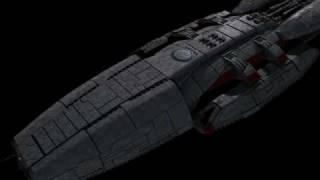 BSG - Battlestar Pacifica Wip01 - FTL jump Rev.1