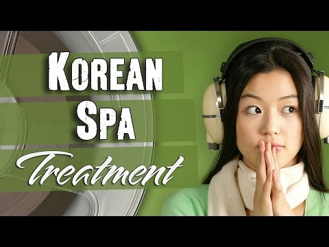 ASMR Korean Spa Treatment - Audio Only | ASMR Korean Whispering