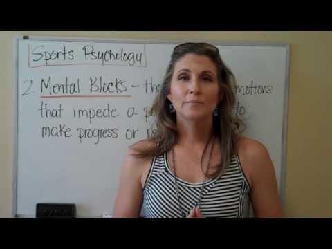 Sports Psychology Series Part 2:  Mental Blocks