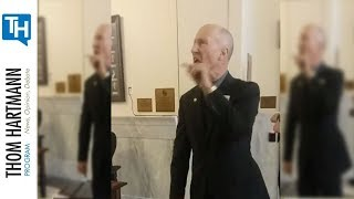 Idaho State Senator Threatens High School Kids with Arrest for Participating in Democracy