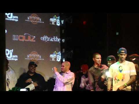 Mickey Factz x Cory Gunz Announce Mixtape @ SOB's 2010