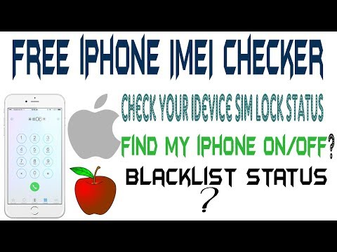how to check iphone imei | iphone imei check carrier free | - YouTube