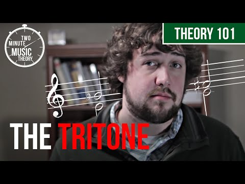 The Tritone: The Devils Interval?  TWO MINUTE MUSIC THEORY #16