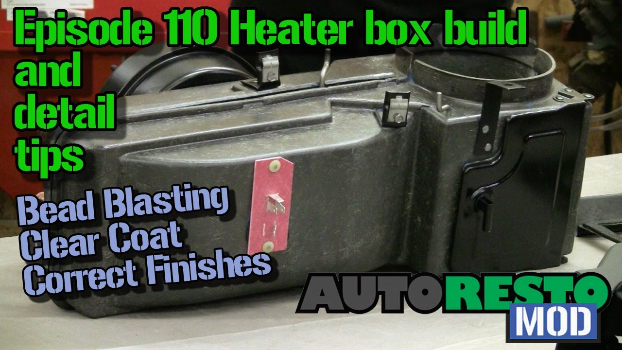 Episode 110 Mustang And Cougar Heater Box Assembly Detail Tips 1967 Wiring Diagram Autorestomod