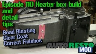 Episode 110 Mustang and Cougar Heater box assembly and detail tips Autorestomod