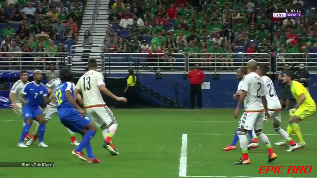 Кюрасао - Мексика 0:2 видео