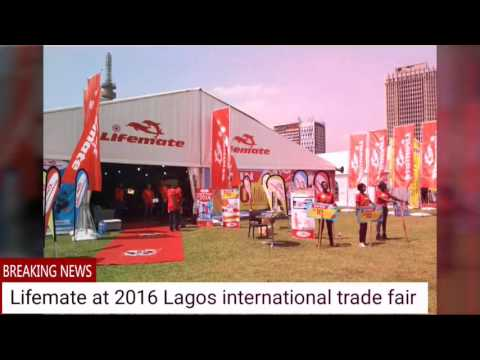lifemate furniture nigera in lagos international trade fair