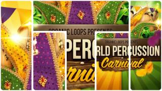 World Percussion Samples - Organic Loops World Percussion Carnival
