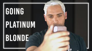 Gambar cover DIY Platinum Blonde at Home for Men | Bleaching My Hair for the First Time