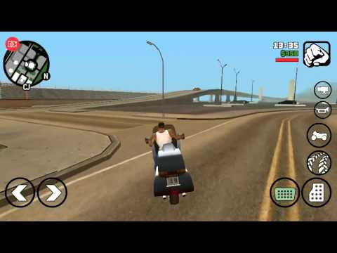 Gta San Andreas Gameplay on ASUS ZenFone 3 ultra