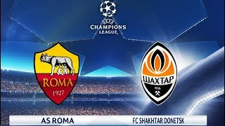 Download Video AS Roma vs Shakhtar Donetsk   UEFA Champions League (UCL) 2018   Gameplay PC HD PES MP3 3GP MP4
