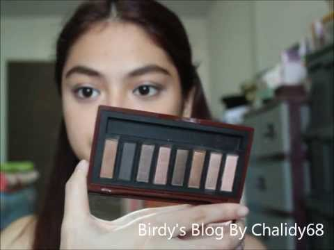 "[Chalidy68] Swatch : Mistine ""Nudy Brown"" Complete Eye Palette"